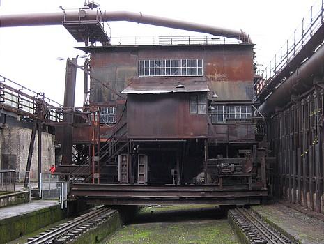 Kokskohlenstampfmaschine